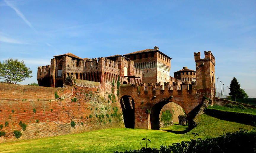 The Sforza Fortress in Soncino