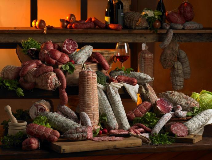 I salumi e le carni