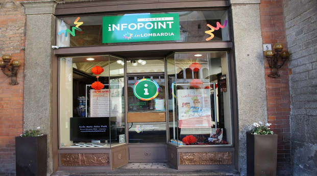 L'ingresso dell'Infopoint