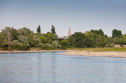 Pasquetta sul fiume Po