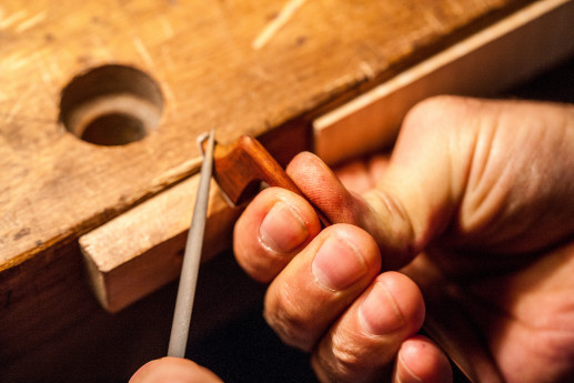 Visits to the violin-making workshops