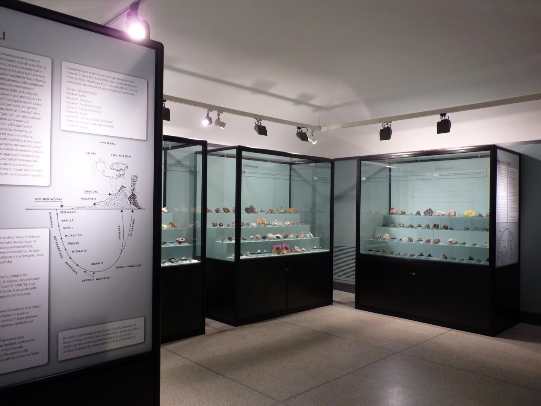 La sala minerali