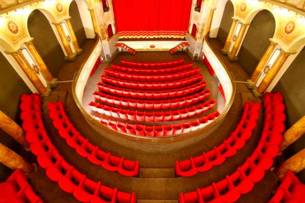 Il teatro dall'alto